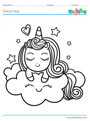 dibujos para ninos de unicornios