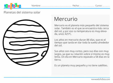 planeta mercurio ficha