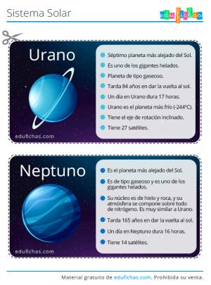 flashcards del sistema solar