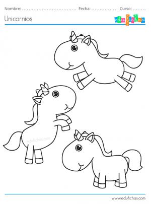 imagenes de dibujos de unicornios