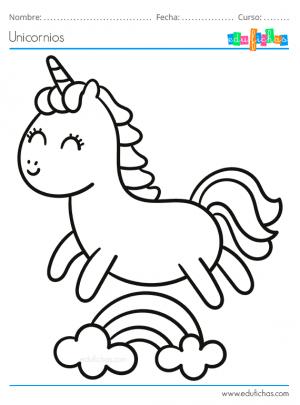 unicornio dibujo infantil