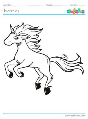 unicornio saltando