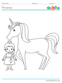 unicornios y princesas