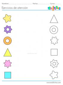 actividades de atención para niños con autismo