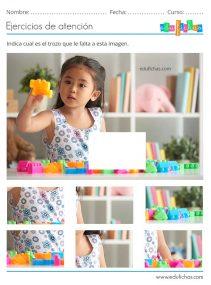 actividades de atención para infantil