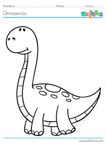 colorear dinosaurios gratis