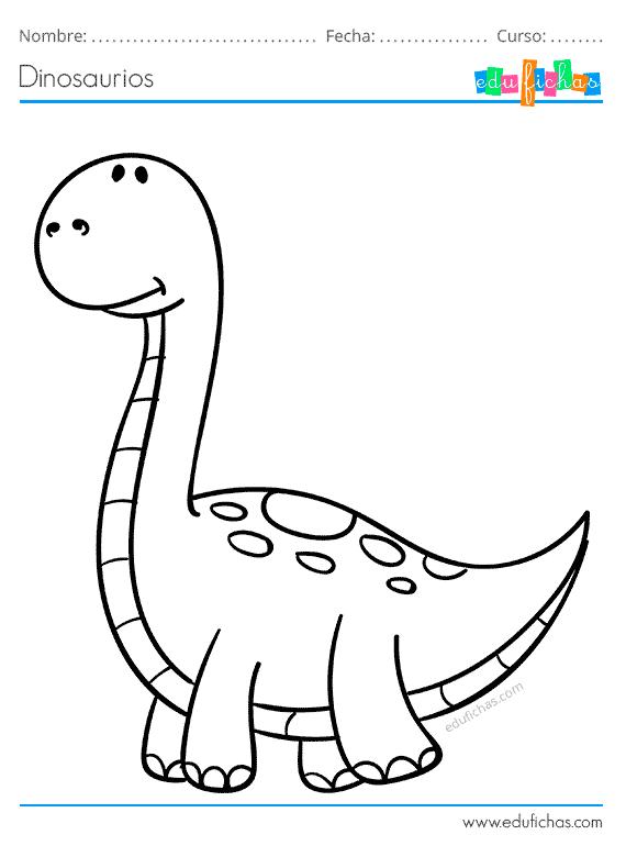 Dinosaurios Para Colorear Libro De Colorear Gratis Imprimir Pdf A menudo los dinosaurios pueden dar miedo a los más pequeños de la casa, pero hoy queremos mostrar la versión infantil de estos feroces animales prehistóricos, y es que también hay dinosaurios para niños. dinosaurios para colorear libro de
