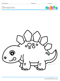 dibujos de dinosaurios gratis