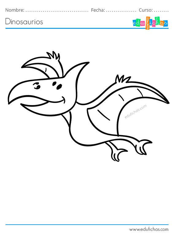 Dinosaurios Para Colorear Libro De Colorear Gratis Imprimir Pdf A pesar de que los dinosaurios que volaban como tal no existieron, si hubo algo muy cercano, un nombre de dinosaurio volador podría ser el microraptor. dinosaurios para colorear libro de