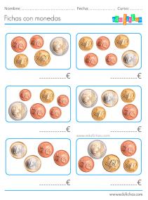 actividades con euros primaria