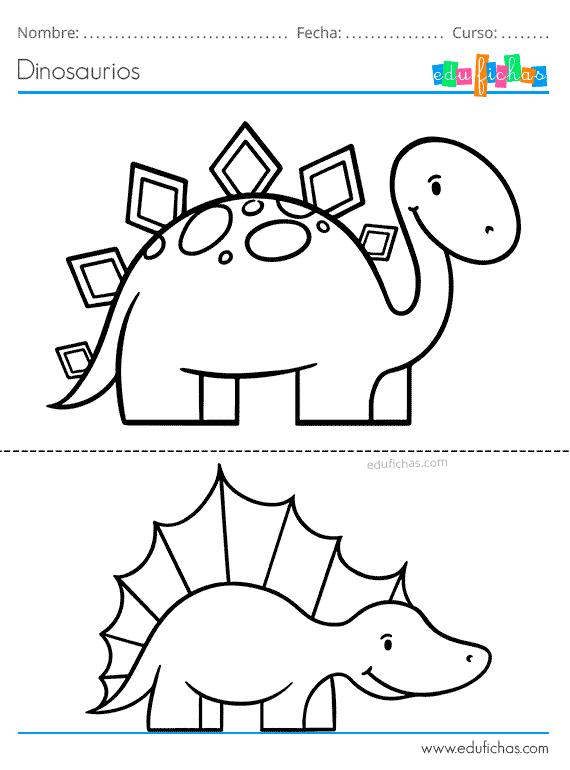 Dinosaurios Para Colorear Libro De Colorear Gratis Imprimir Pdf Ver más ideas sobre dinosaurios, fiesta de dinosaurios, dinosaurios para niños. dinosaurios para colorear libro de