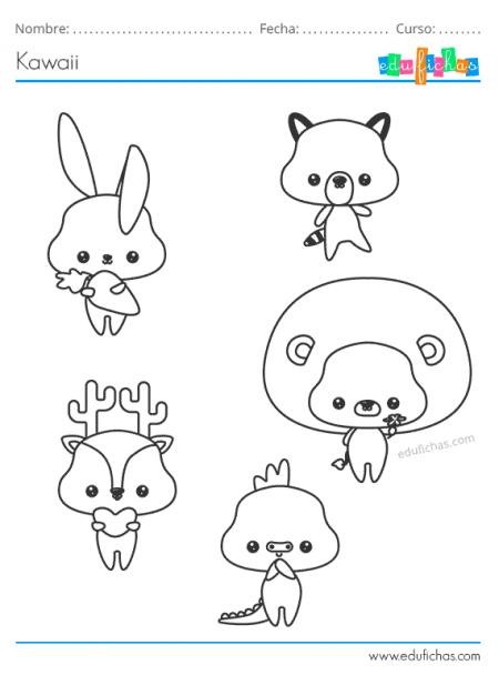 animales kawaii