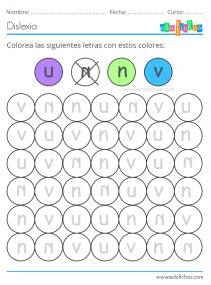 colores dislexia