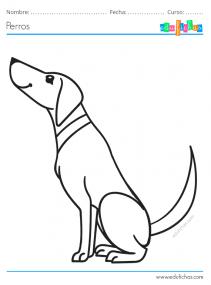 dibujos de perros pdf