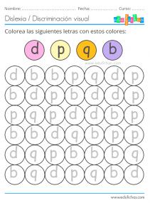 dislexia con colores