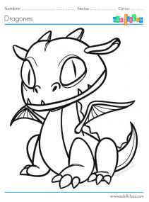 dragones para niños pdf