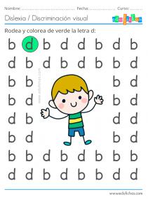 ejercicio con la letra d