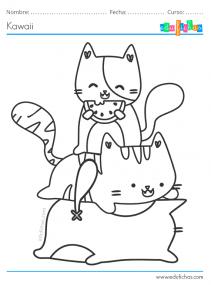 gatos kawaii
