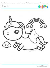 kawaii unicornio