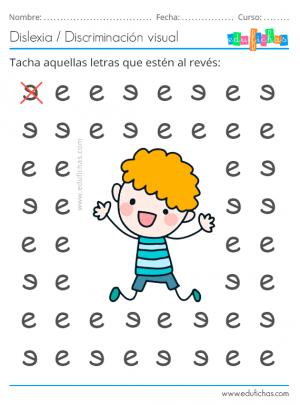 ejercicio con la letra e