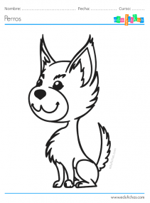 perritos para pintar