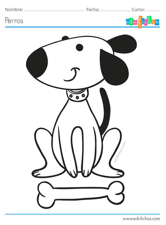 Dibujos De Perros Para Colorear Descargar Pdf Gratis