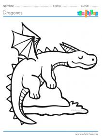 pintar dragones gratis