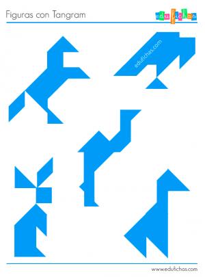 animales formas geometricas