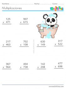 cuaderno de multiplicaciones gratis