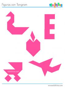 figuras juego del tangram