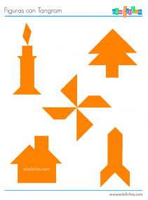 figuras con el tangram
