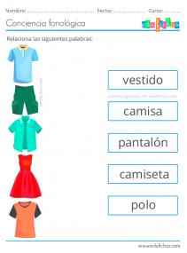 fonologica ejercicios
