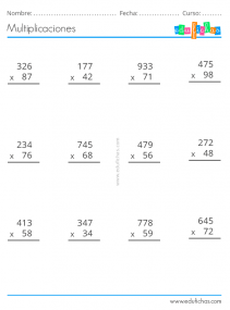 multiplicar por dos cifras