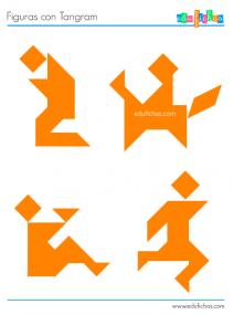 tangram figuras humanas