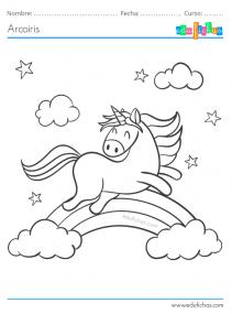 arcoiris y unicornios