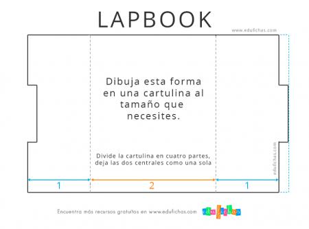 lapbook plantilla