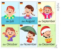 meses del año en aleman