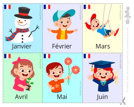 meses del año en francés