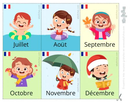 meses en francés