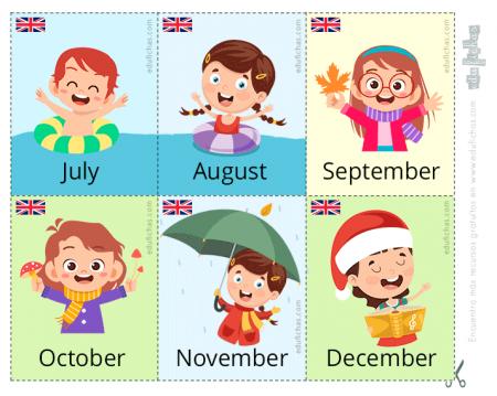 meses en inglés