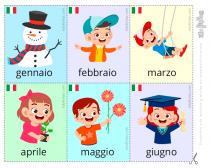 los meses en italiano