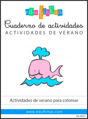 actividades de verano para colorear