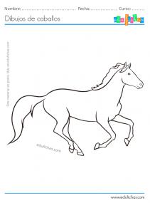caballo corriendo realista