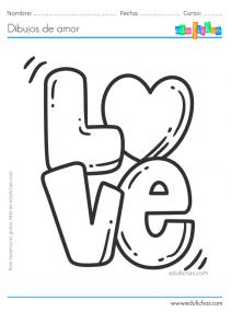 colorear love