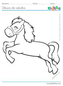 dibujo caballo