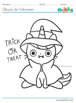 dibujos bonitos de halloween