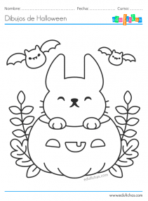 dibujos de halloween para niños