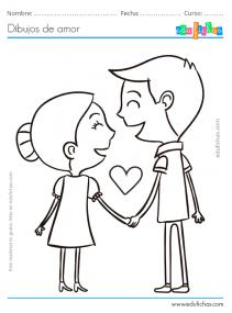 dibujos de parejas
