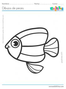 pez para pintar