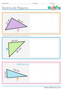 teorema de pitagoras para niños